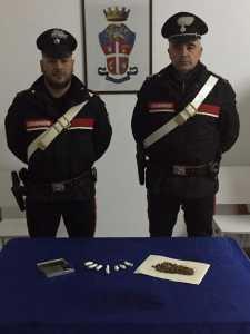 carabinieri rossano droga