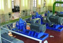impianto di sollevamento acquedotto