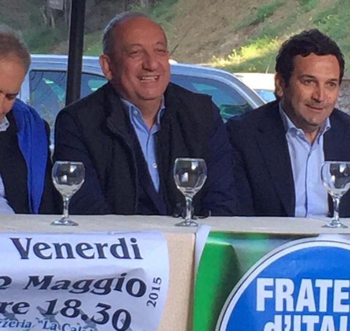 Dima e Orsomarso in un incontro di Fratelli d'Italia