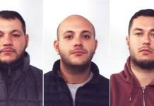 Domenico La Rosa, Vincenzo La Rosa, Fabio Sacco fermati a Gioia Tauro