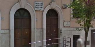 Ordigno esplode davanti a stazione Carabinieri a Roma