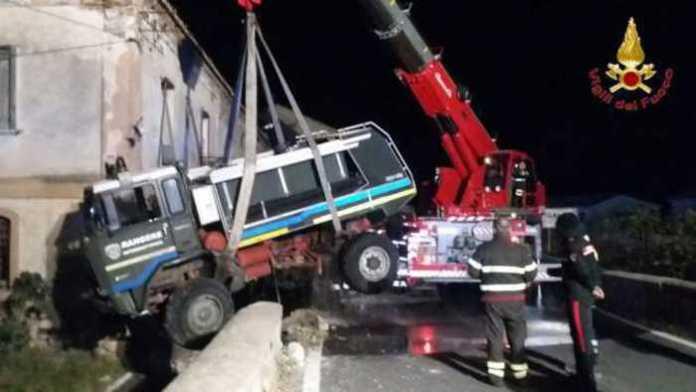 Incidenti stradali intervento Vigili del fuoco a Brancaleone