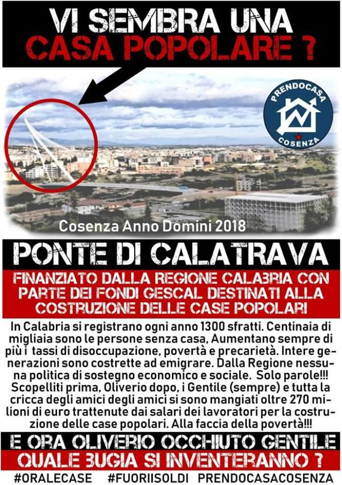 comitato Prendocasa Cosenza Calatrava