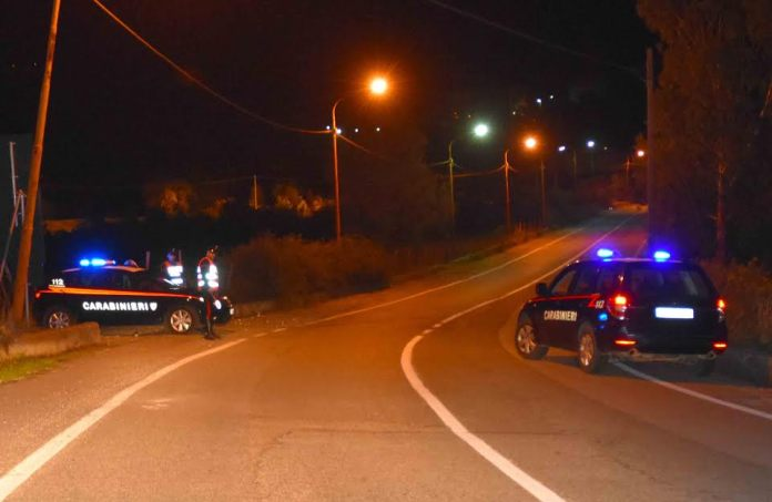 controllo carabinieri notte
