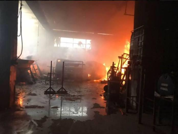 incendio Cantieri nautici Ranieri