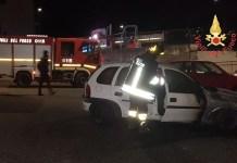 Due auto in fiamme a Catanzaro, probabile dolo