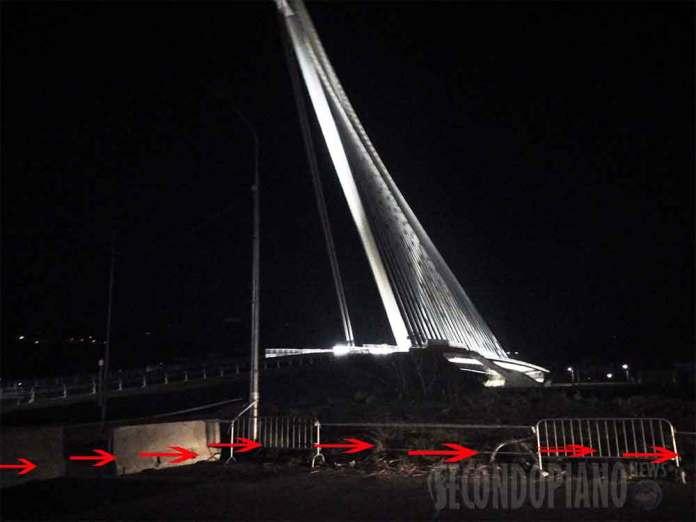 ponte di Calatrava chiuso