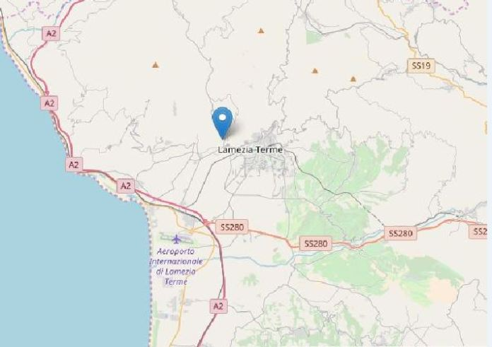 terremoto lamezia terme