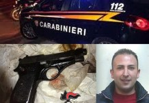 Angelo Catanea e pistola