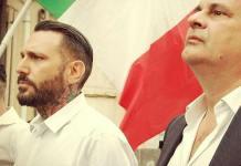 Massimo Ursino e Roberto Fiore