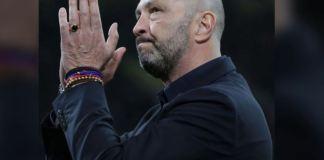 "Walter Zenga saluta i tifosi nella ""sua"" San Siro"