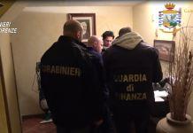 blitz antimafia carabinieri finanza firenze