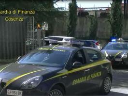 blitz guardia di finanza Cosenza
