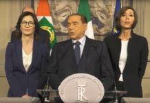 Berlusconi dopo le consultazioni