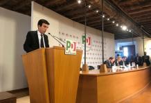 Maurizio Martina in Direzione Pd
