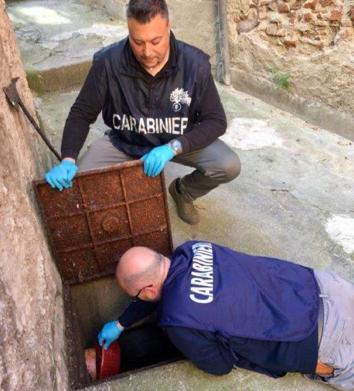 carabinieri cocaina scarico