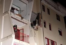 Esplosione casa Crotone
