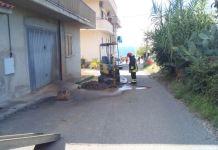 escavatore San Leo di Briatico