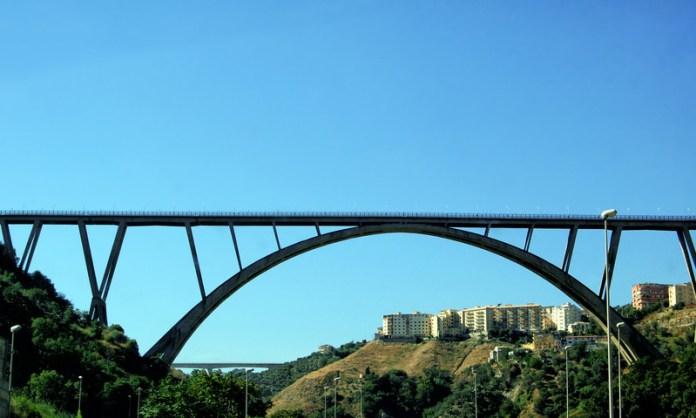 Il viadotto Bisantis di Catanzaro