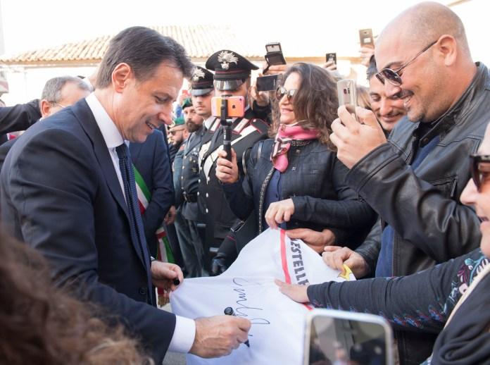 Giuseppe Conte in Calabria
