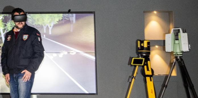 Presentazione Teatro virtuale della Polizia Scientifica