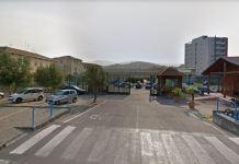 L'ingresso del carcere cosentino di Viale Mancini