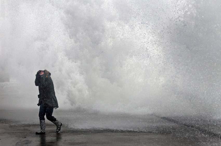 Maltempo, Pasquetta con venti forti e mareggiate al Centro-Sud