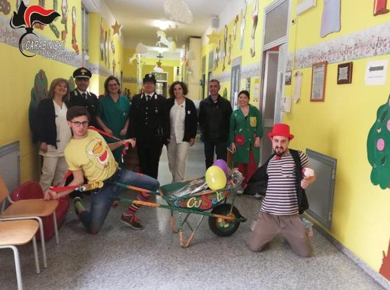 carabinieri in corsia ospedale Cosenza