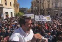 Salvini a Catanzaro, su regionali cerchiamo candidato