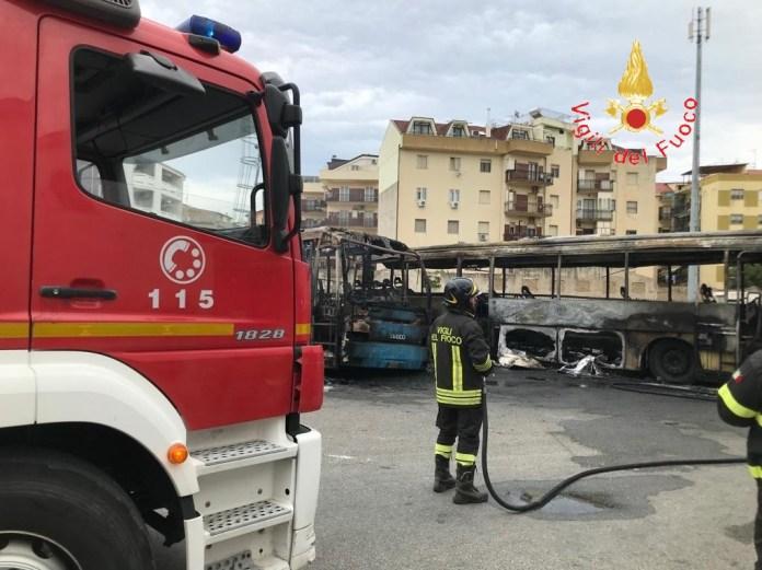 incendio autobus