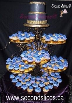 Wedding Blue Cupcakes