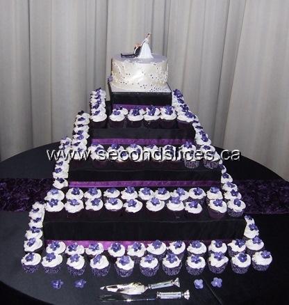 Purple White And Black Wedding Cakes - 5000+ Simple Wedding Cakes