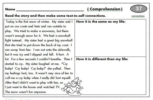 2nd grade reading homework