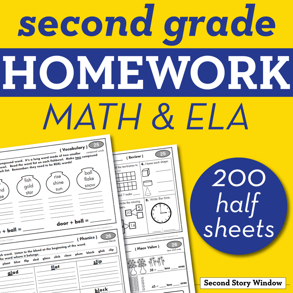 medium resolution of 2nd Grade Homework