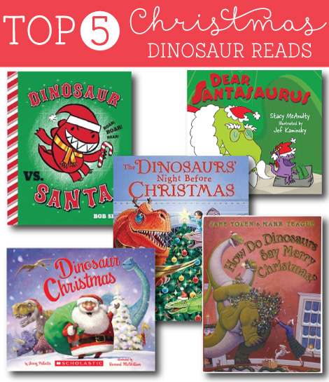 93 Best Images About Christmas Story On Pinterest: Top 5 Dino Christmas Reads