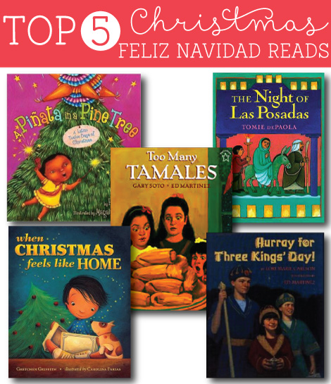 Top 5 Feliz Navidad Christmas Books WITH reviews and readability rating!