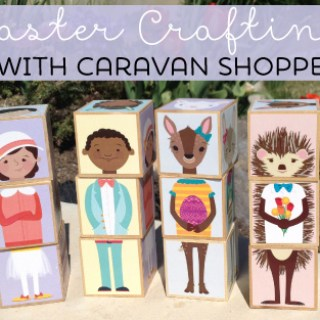 Easter Crafting with Caravan Shoppe