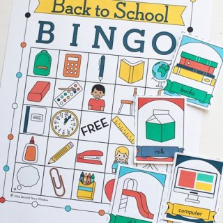 Back to School Bingo Gets A Facelift!