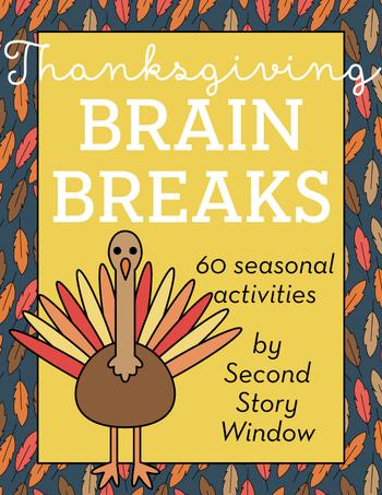 Thanksgiving Brain Breaks