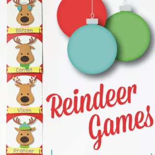 Reindeer Games Holiday Classroom Management (Freebie!)