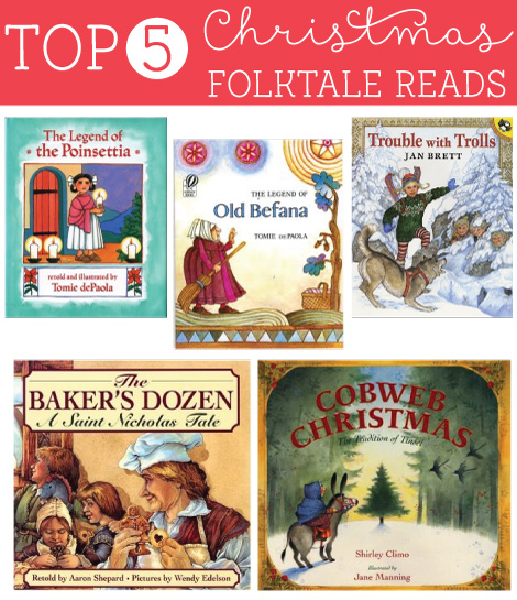 Top 5 Christmas Folktale Books WITH reviews and readability rating!