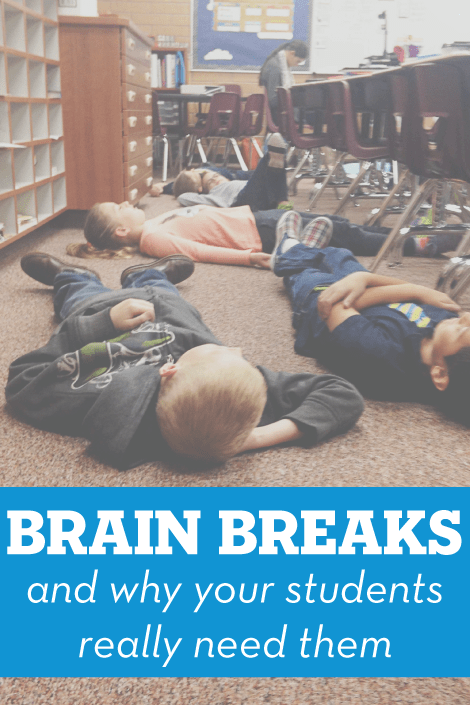 Brain Breaks and Why Your Students Really Need Them