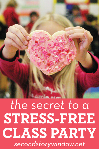One Simple Tip for a Stress-Free Class Party