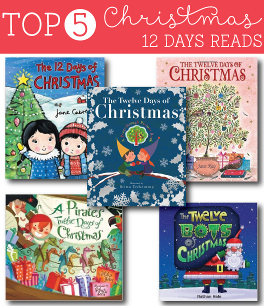 93 Best Images About Christmas Story On Pinterest: Top 5 Twelve Days Of Christmas Reads