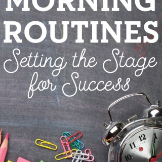 Morning Routines: Setting the Stage for a Successful Day