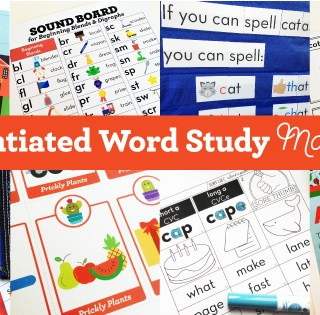 Differentiated Word Study Made Easy