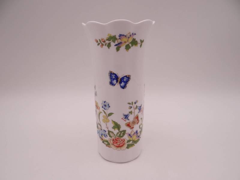 Vintage Aynsley English Bone China Cottage Garden Mayfair Bud Vase