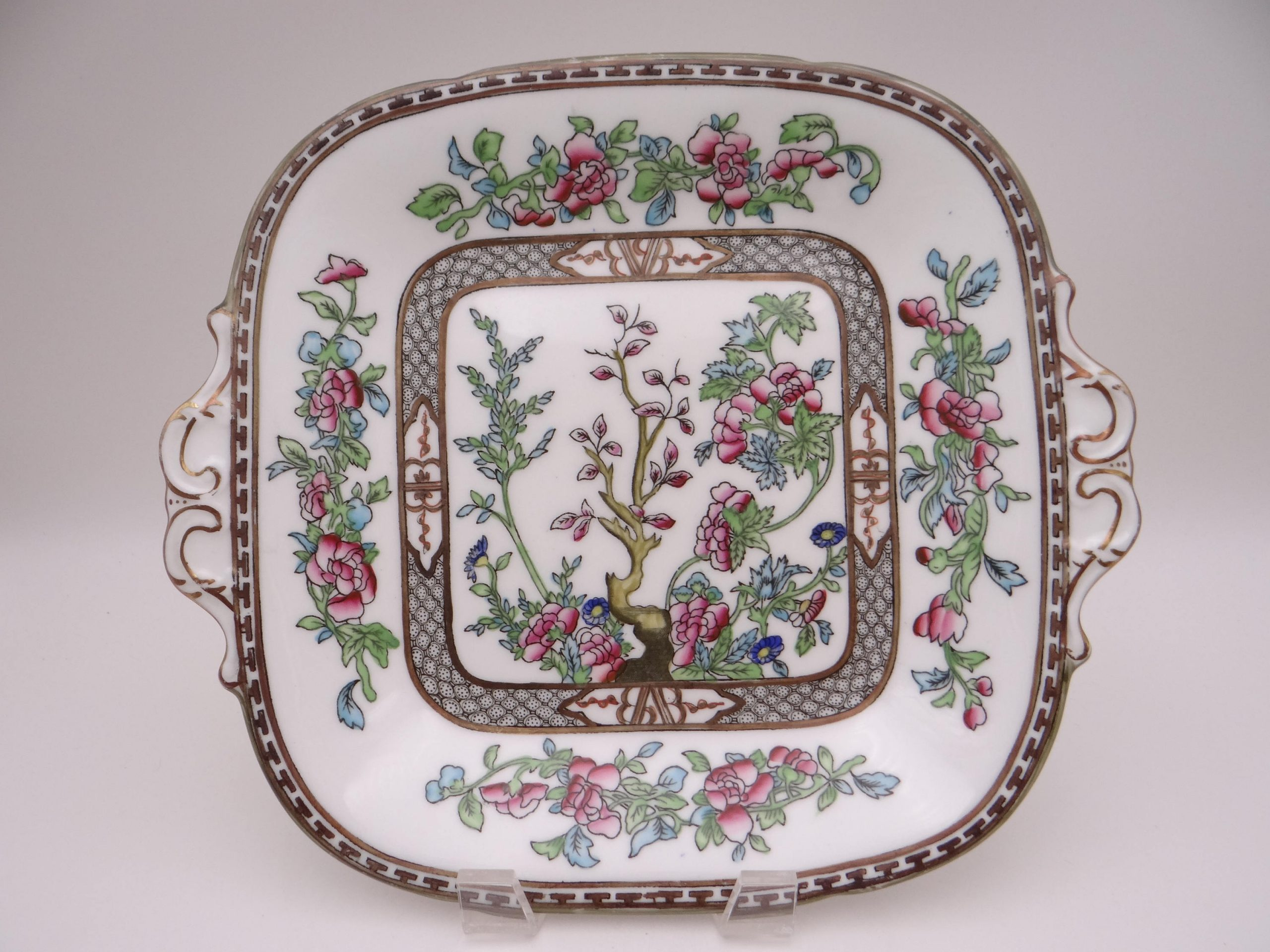 Coalport Indian Tree Plates Antique Coalport China Plates