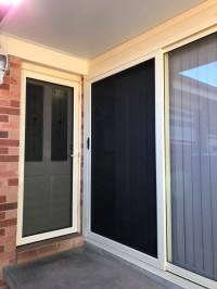 Security Sliding Screen Door Stainless Mesh