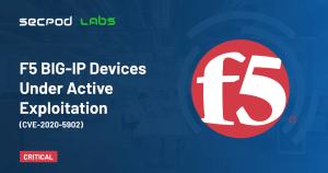 F5 BIG-IP Devices Under Active Exploitation (CVE-2020-5902)